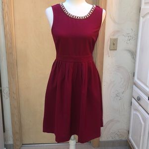 Elegant Cherry formal party dress